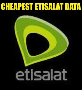 CHEAPEST ETISALAT DATA 511