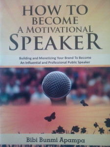 BOOK REVIEW HOW TO BECOME A MOTIVATIONAL SPEAKER IN NIGERIA 1