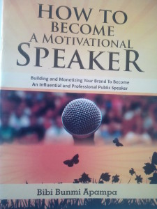 BOOK REVIEW HOW TO BECOME A MOTIVATIONAL SPEAKER IN NIGERIA