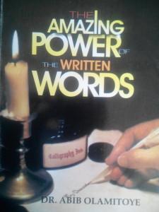 power of written words