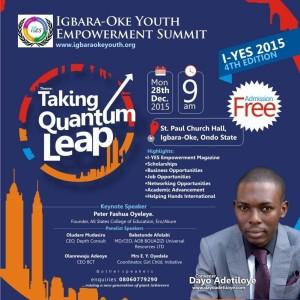 Igbara oke Youth Empowerment Summit 2015
