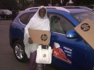 Habibat with Laptops