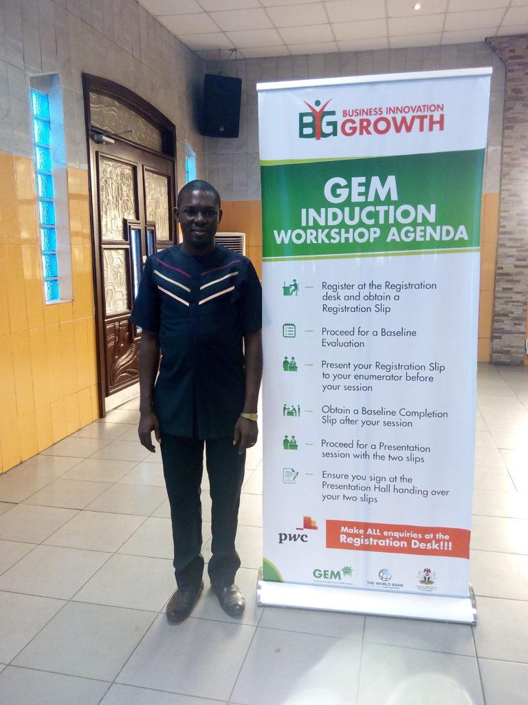 Dayo Adetiloye at GEM
