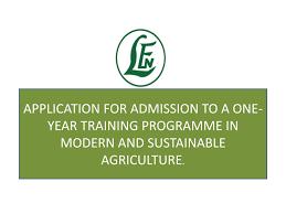 LEVENTIS FOUNDATION (NIGERIA) AGRICULTURAL SCHOOLS