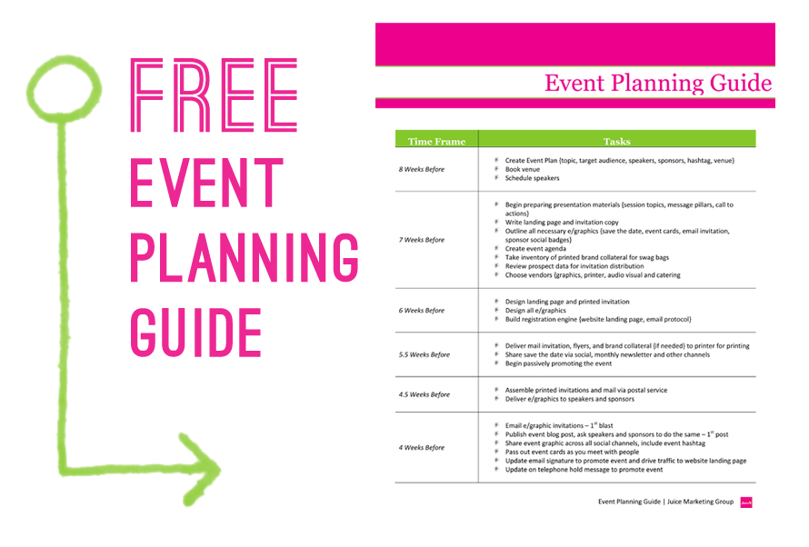 event planning business plans