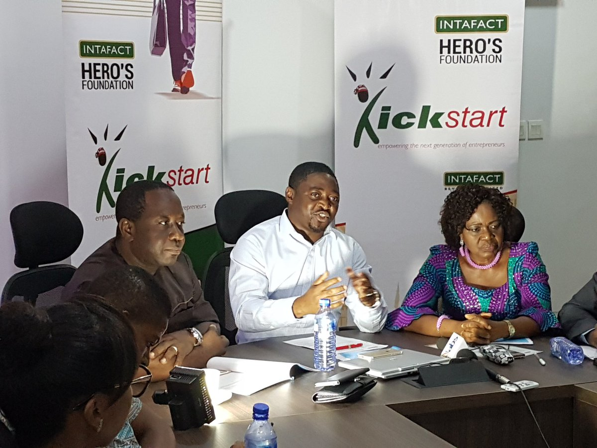 Apply for 2017 Intafact Hero's Foundation Kickstart Business Grant for Young Entrepreneurs located in Abia, Anambra, Benue, Delta, Ebonyi, Edo, Enugu and Imo states.