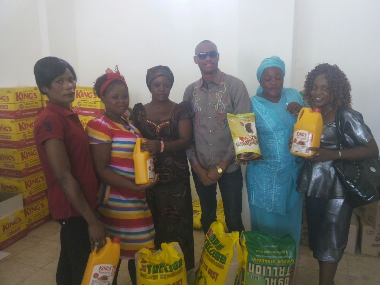 Photo Event: Happy World Meal Gate Ibadan Ware House Launch in March 2017.