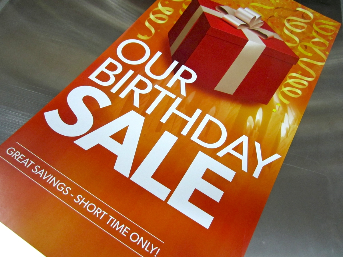 Birthday Promo Offer! 50% Discount Off Our Products and Services.