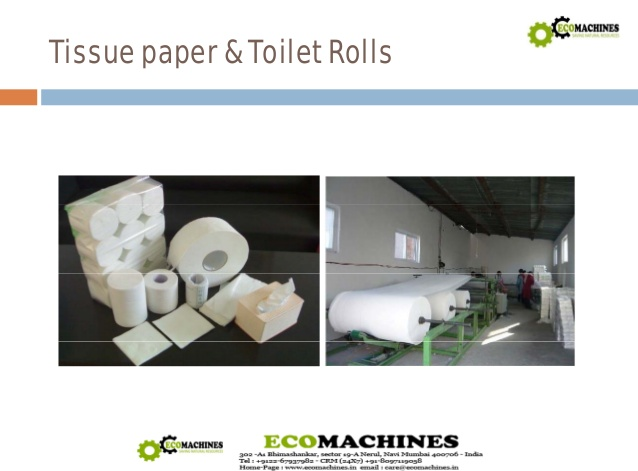 cost of tissue paper machine