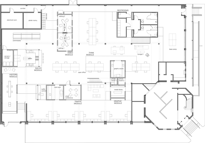 Architectural Office Floor Plan Pdf Flisol Home