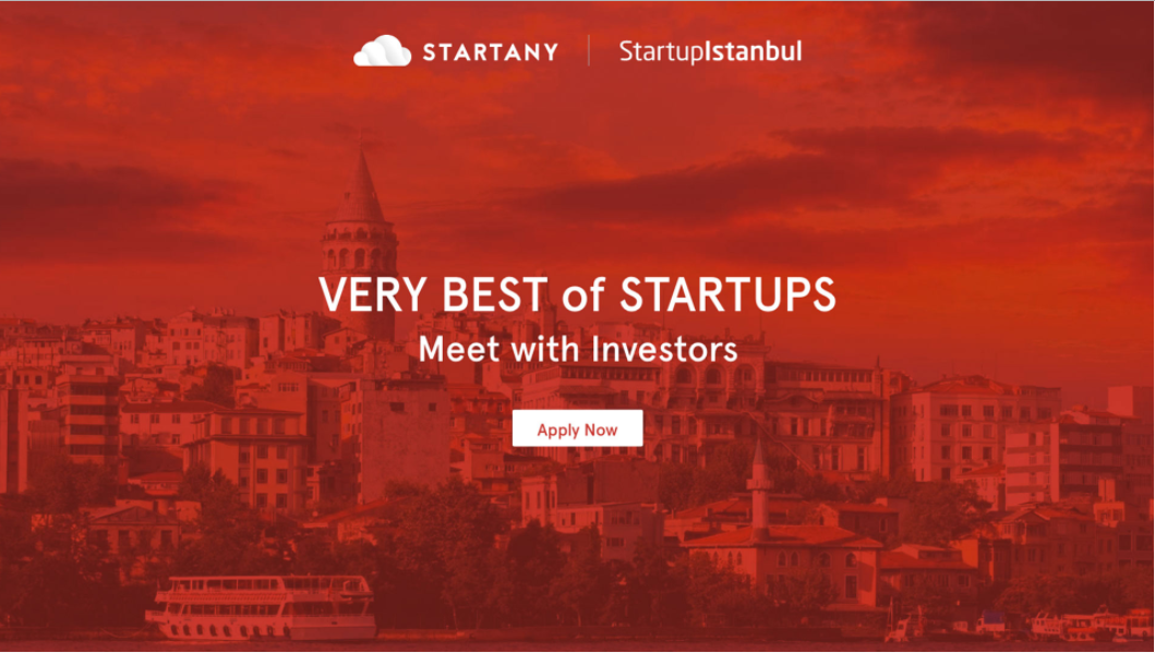"Apply for Startup Istanbul 2017 ""Startup Challenge"" will be continued until September 1, 2017"