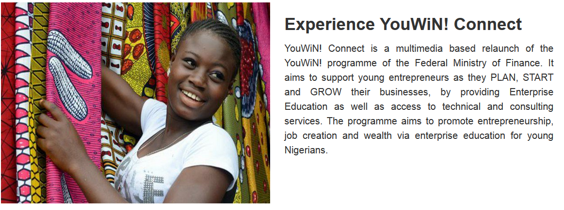 Apply for YouWiN! Connect Enterprise Education in Nigeria