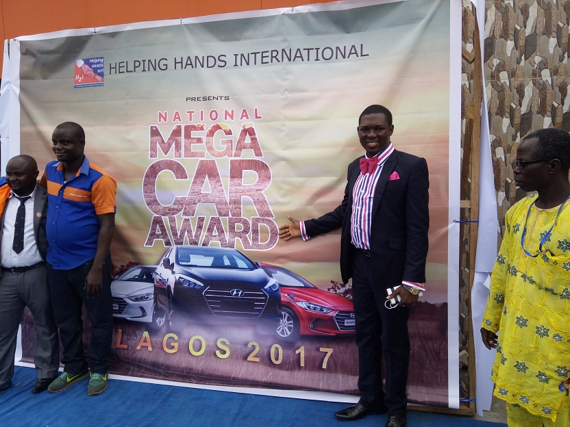 Dayo Adetiloye Won Helping Hands International H2i Car Award 2017