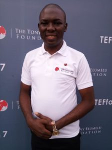 PHOTOS: My Online Millionaire Friends Winners of the $5000 live at the Tony Elumelu Foundation 2017 Forum
