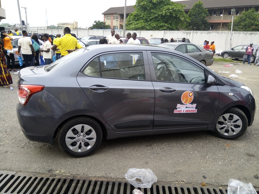 Happy World Meal Gate Car Award and 1st Year Anniversary in Nigeria