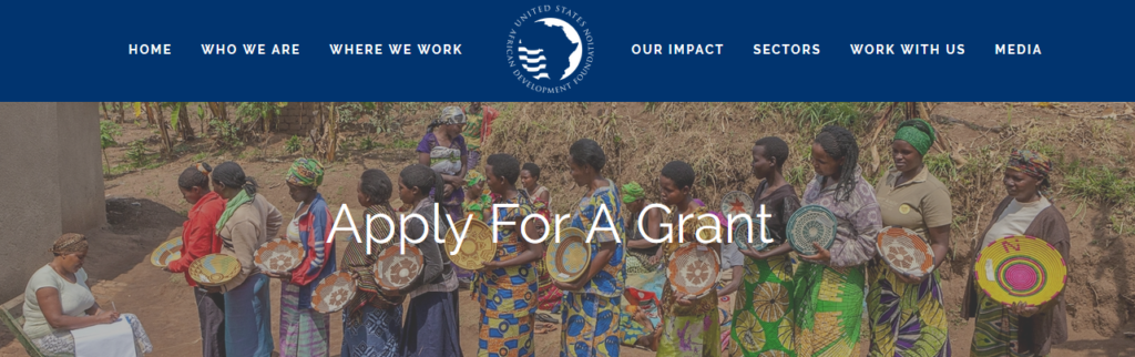 USADF GRANT APPLICATIONS CALL FOR PROPOSALS TO BOOST AGRICULTURAL SECTOR IN SORGHUM, RICE, CASSAVA, AQUACULTURE IN NIGERIA