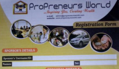 How to Make money and succeed in Propreneurs New Network Marketing in Nigeria