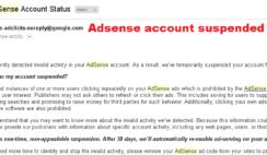 5 Reasons Why Adsense Disable Your Account