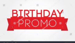 My Birthday Business Plan Promo