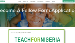 Apply For Teach For Nigeria 2018