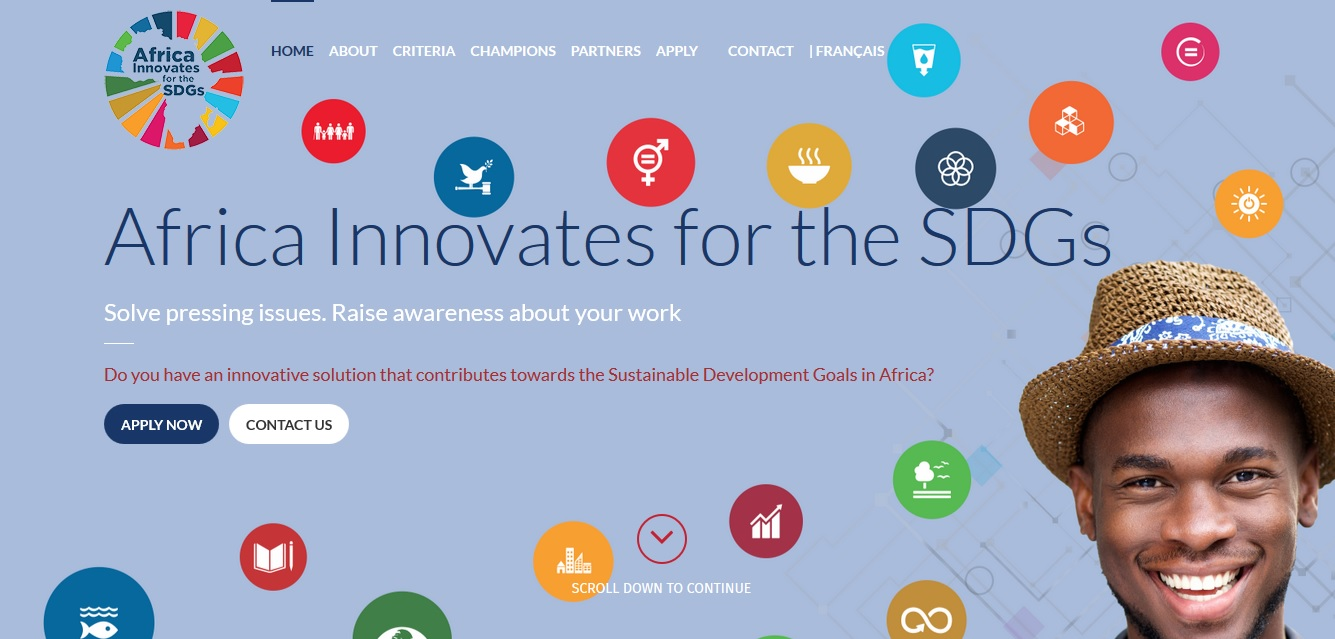Apply for $5000 Africa Innovates For the SDGs New Award For African Social Innovators