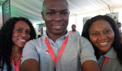 Snap Shots with our TEF Winners at 2018 Tony Elumelu Foundation Forum