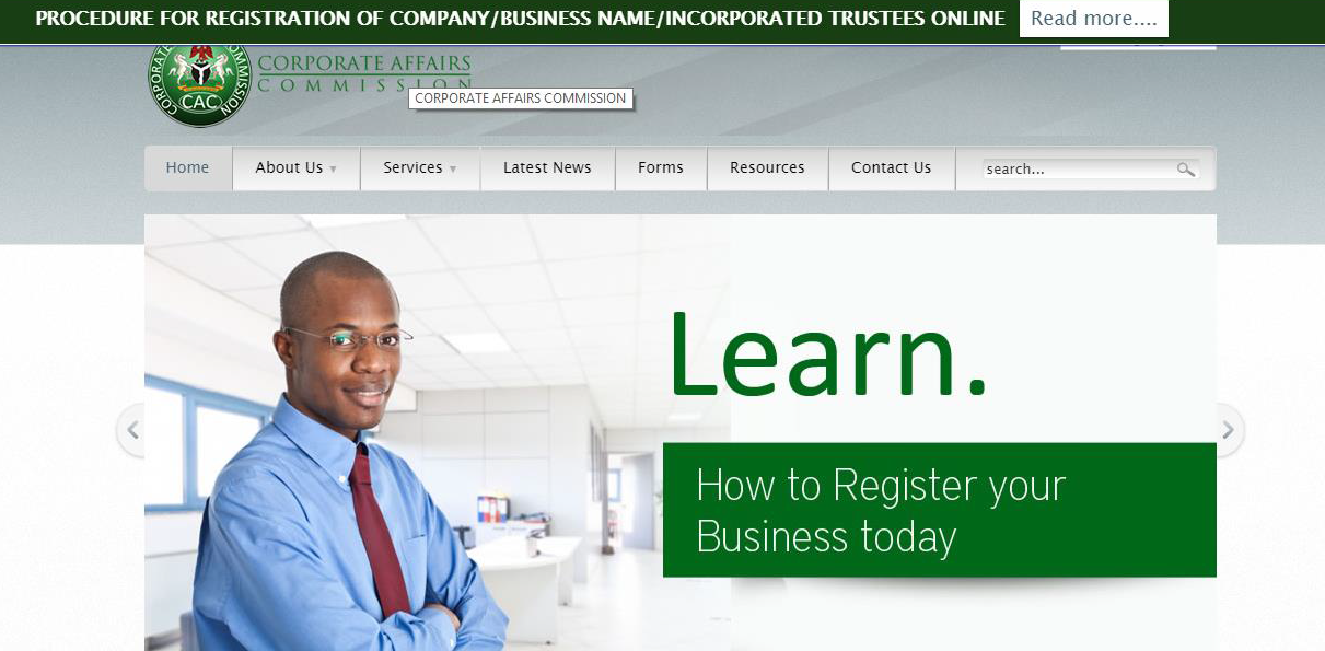 E-Book: HOW TO REGISTER YOUR BUSINESS NAME WITH CORPORATE AFFAIRS COMMISSION ON YOUR OWN