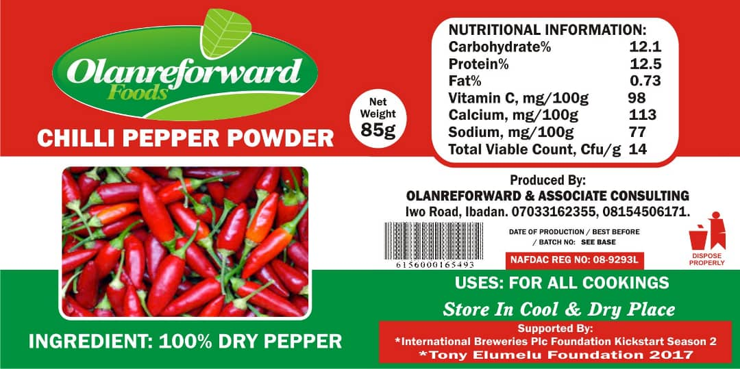 The Best Chili Pepper powder in Nigeria and How to Be a Reseller