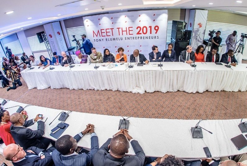 The List of 3050 Winners of Tony Elumelu Foundation $5000 Grant for 2019 is Here