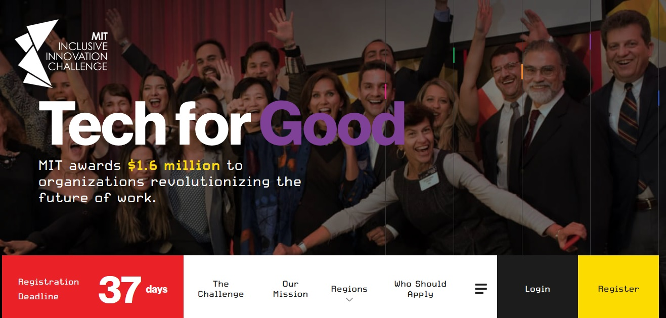 Apply for $250,000 Startup Funding at the MIT Inclusive Innovation Challenge