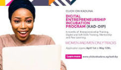Digital Entrepreneurship Incubation Program for Kaduna Residents.