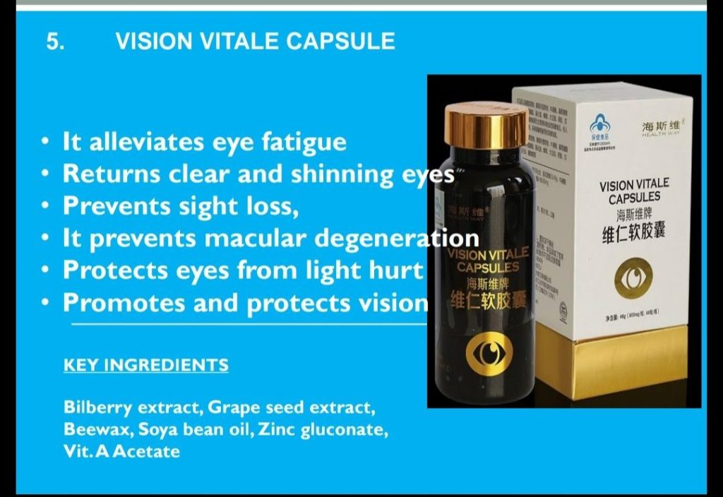 How to Buy Norland VISION VITALE CAPSULE Effective For Glaucoma, Cataracts And Myopia in Nigeria