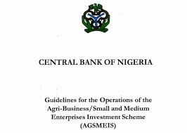Apply for N10 million CBN AGSMEIS 5% Loan