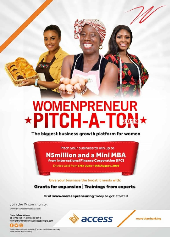 Guide to Answer Access Bank Womenpreneur Pitch-A-Ton 2019 Grant Application Questions and Sample Answers