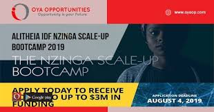 Apply for $3M Nzinga Scale-Up Bootcamp for Young Entrepreneurs 2019