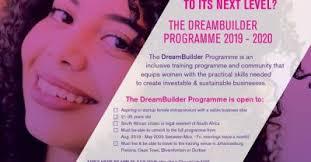 Academy For Women Entrepreneurs DreamBuilder Programme 2019-2020