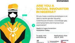 Apply for UK DIT Lagos Immersion 2019 for Social Innovators