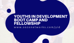 Sozo Youth In Development (YID) Boot Camps and Fellowship 2019